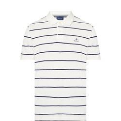 Breton Stripe Polo Shirt