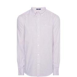 Royal Oxford Striped Shirt