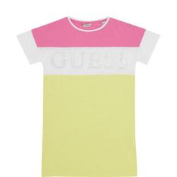 Girls Striped T-Shirt Dress