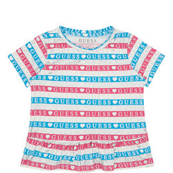 Girls Stripe Logo T-Shirt