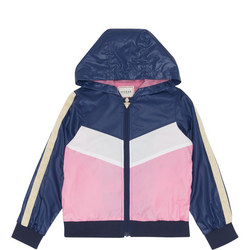 Girls Colour Block Hoody