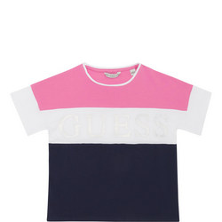 Girls Stripe Logo T-Shirt