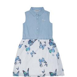 Girls Butterfly Dress