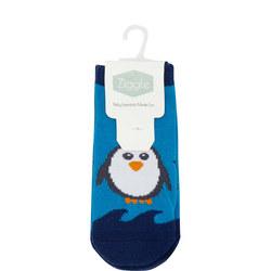 Babies Two-Pack Penguin Socks 6-12 Months