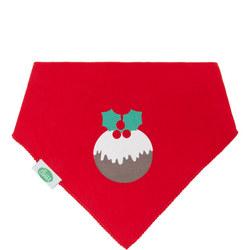 Baby Christmas Pudding Bib