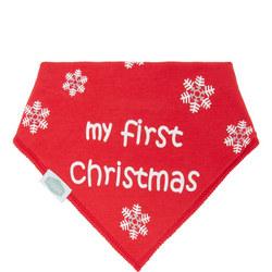 Baby My First Christmas Bib