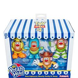 Mr. Potato Head Toy Story Mini Four-Pack