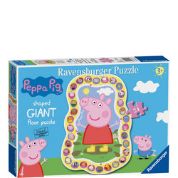 Peppa Pig Giant Shaped Floor Puzzle