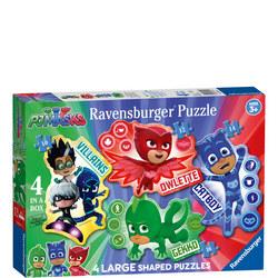 PjJ Masks Large Shaped Puzzles