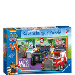 Paw Patrol Let's Roll Puzzle