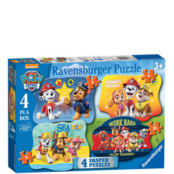 Paw Patrol Puzzle Set of Four