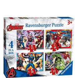 Avengers Puzzle Set of Four
