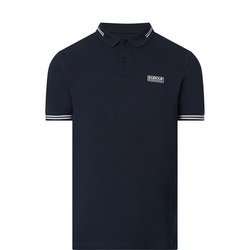 Contrast Tipped Polo T-Shirt
