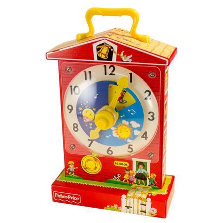 Music Box Teaching Clock