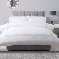 Honeycomb Duvet Set White