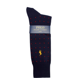 Dotted Two-Pack Socks