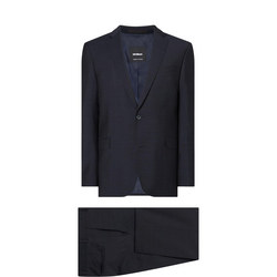 Ar-Maser Two-Piece Check Suit