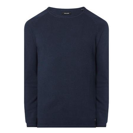Textured Crew Sweater