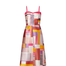 Cleo Geometric Summer Dress