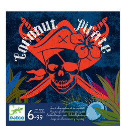 Coconut Pirate Board Game