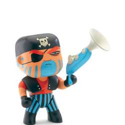 Jack Skull Pirate Arty Toy