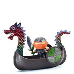 Drack & Ze Drakkar Pirate Arty Toy Figure
