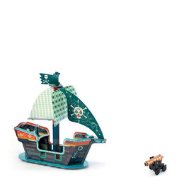 Pop To Play 3D Pirate Boat