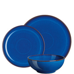 Imperial Blue Coupe 12 Piece Tableware Set
