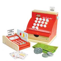 Wooden Card Machine