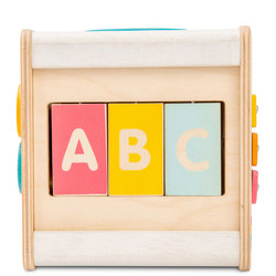 Wooden Petit Activity Cube