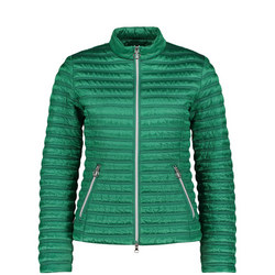Slim Fit Quilted Jacket