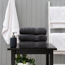 Poloma Towel Charcoal