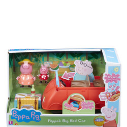Peppa's Big Red Car