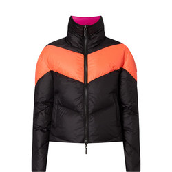 Reversible Chevron Puffa Jacket