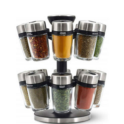 Herb And Spice Carousel 16 Jar
