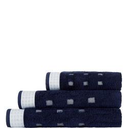 Country Feeling Towel Marine Blue