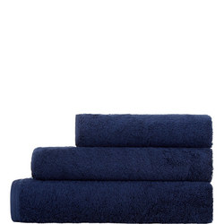 Vegan Life Towel Marine Blue