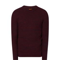 Keystone Textured Crew Sweater