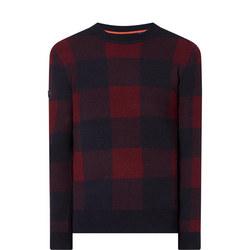 Academy Check Crew Sweater