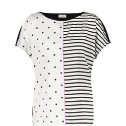 Polka Dot Stripe T-Shirt