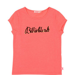Girls Metallic Logo T-Shirt