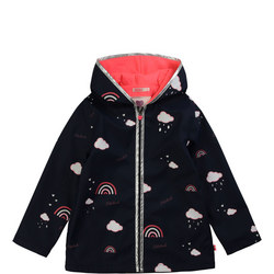 Girls Rainbow Raincloud Jacket