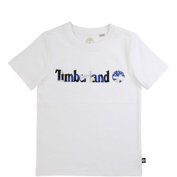 Boys Camouflage Logo T-Shirt