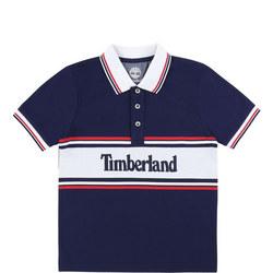 Boys Tipped Logo Polo Shirt