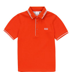 Boys Tipped Polo Shirt