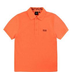 Boys Logo Lining Polo Shirt