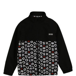 Boys Letter Print Sweatshirt