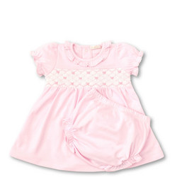 Smocked Bow Dress