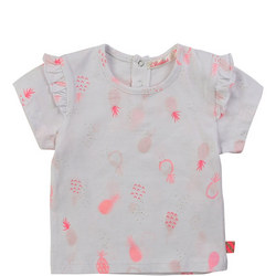 Babies Pineapple Frilled T-Shirt