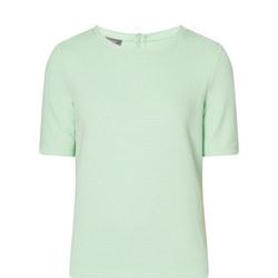 Ottoman Zip Back T-Shirt